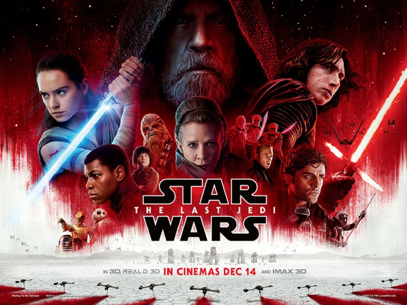 Star Wars The Last Jedi.