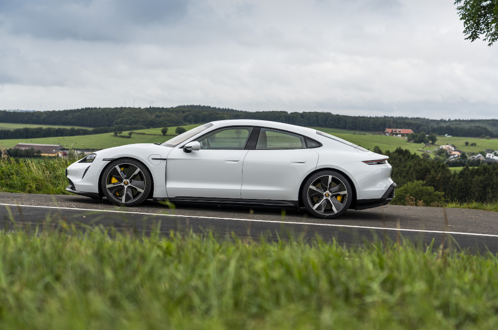 The Porsche Taycan Turbo S Is An Electric Car That Doesn't Drive Like One