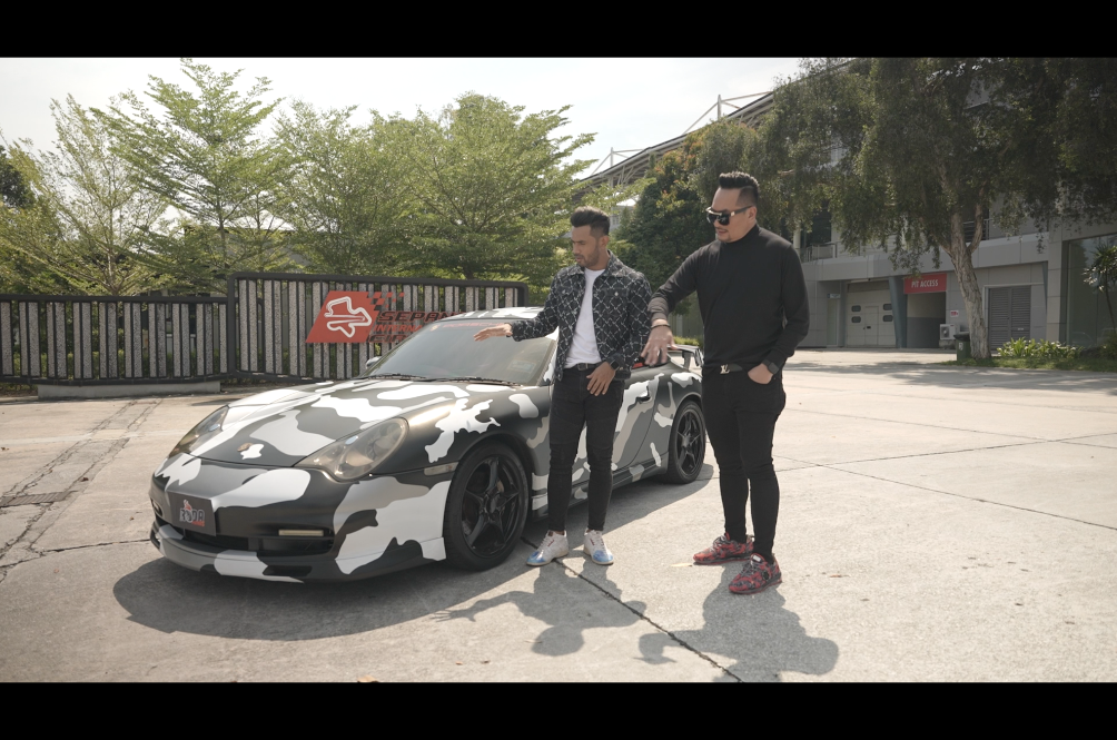Dato AC Mizal Stars In Roda Panas, A TV Show Of Hot Celeb And Their Hotter Wheels