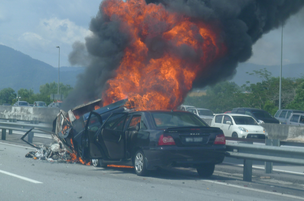 Help! My Car's On Fire. What To Do In The Event Of A Vehicular Fire?