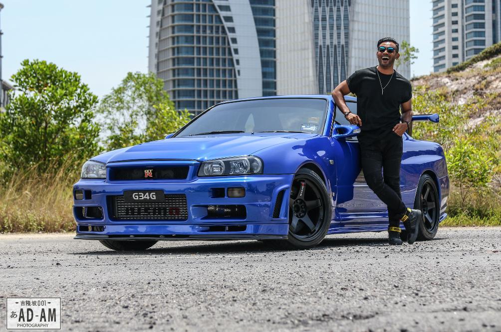 Entrepreneur Amirul Rejab Shows Off A Clean Skyline GTR R34 In The Next Roda Panas Episode