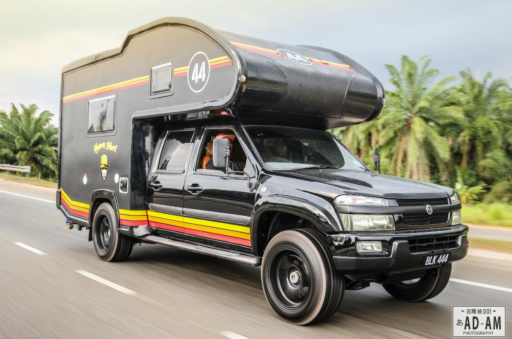 Black Hanafiah's Caravan Takes Road-Tripping To A New Level