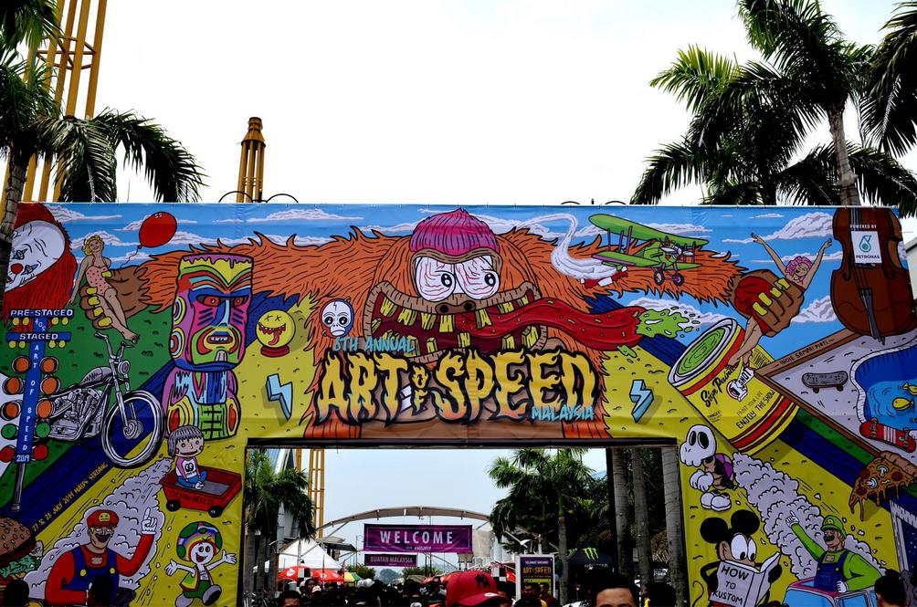 "Art Of Speed – Putting The Kulture In ""Kustom Kulture"""