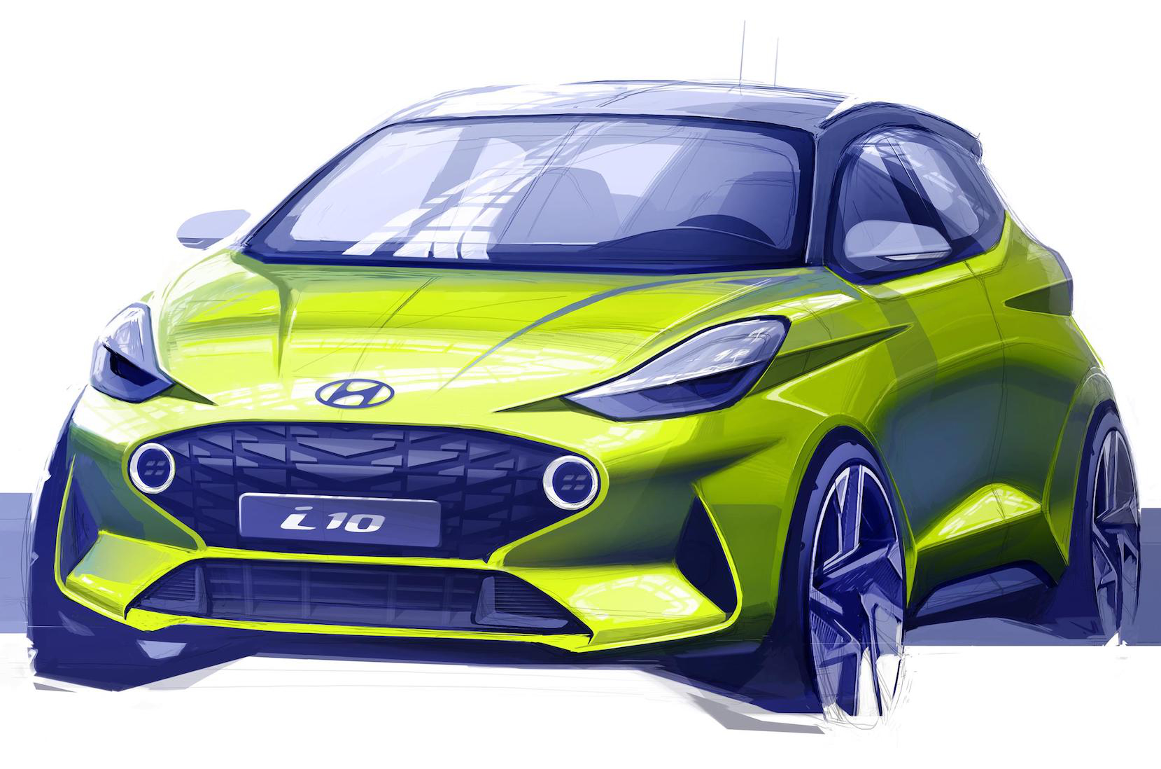Hyundai Completes Sketching The New i10, This Is It