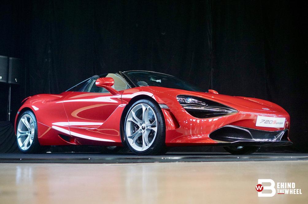 The McLaren 720S Spider Won't Climb Walls, Only Sticks To Roads