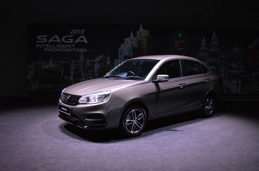 The 2019 Proton Saga Ditches The CVT For A Four-speed Auto