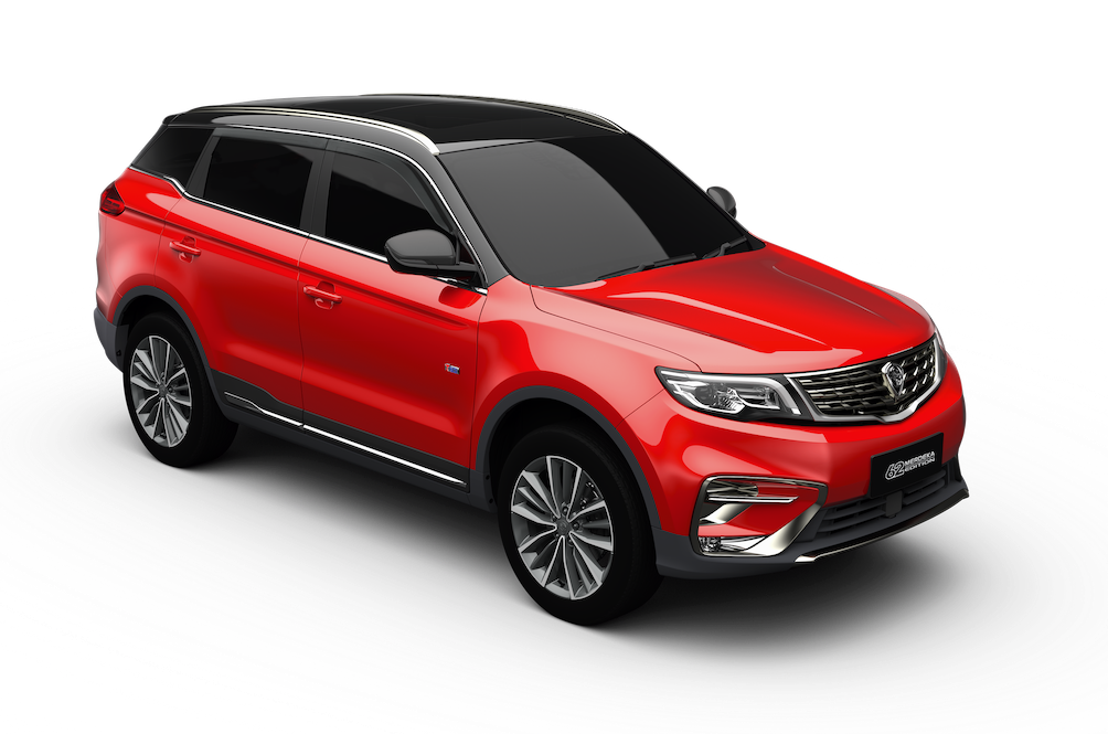 Only 62 Proton X70 SUVs gets dolled up for Merdeka