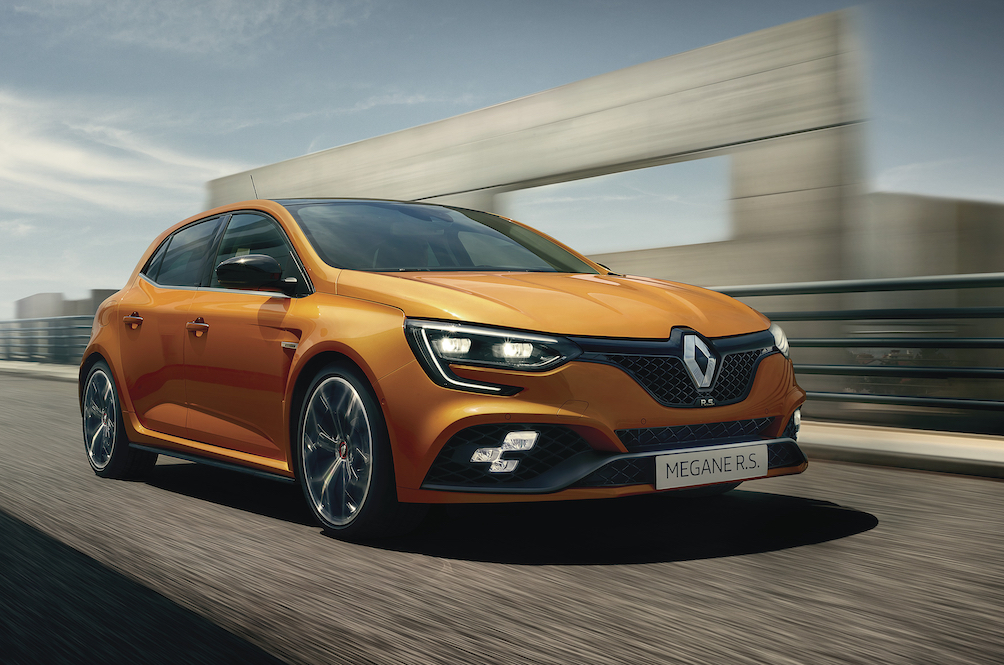 The Renault Megane R.S. 280 Cup is available with a dual-clutch automatic, finally
