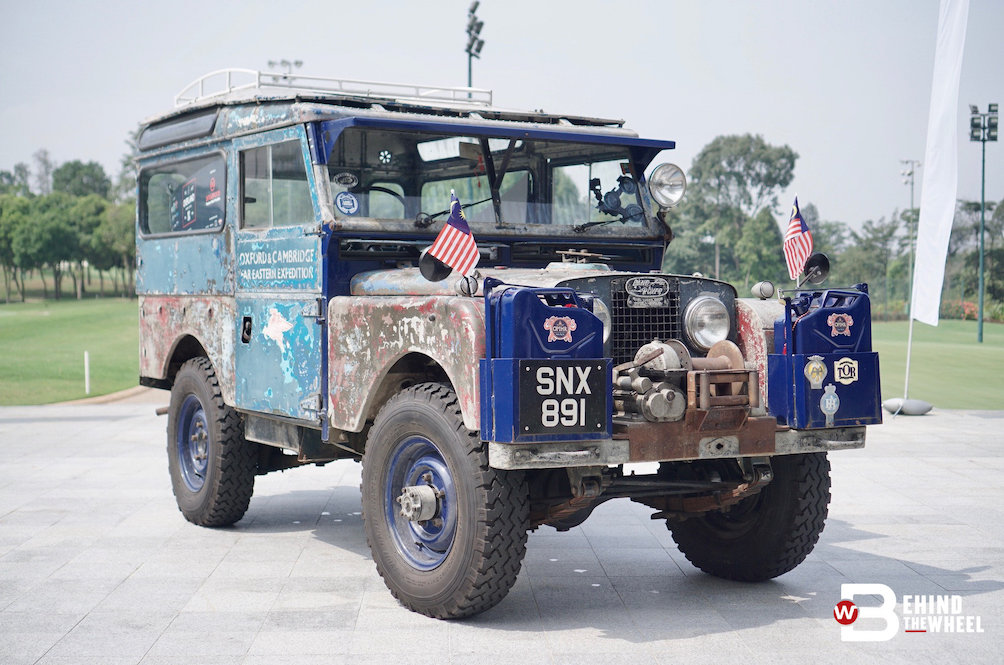 This 64-Year Old Land Rover Is Taking The Long Way Home