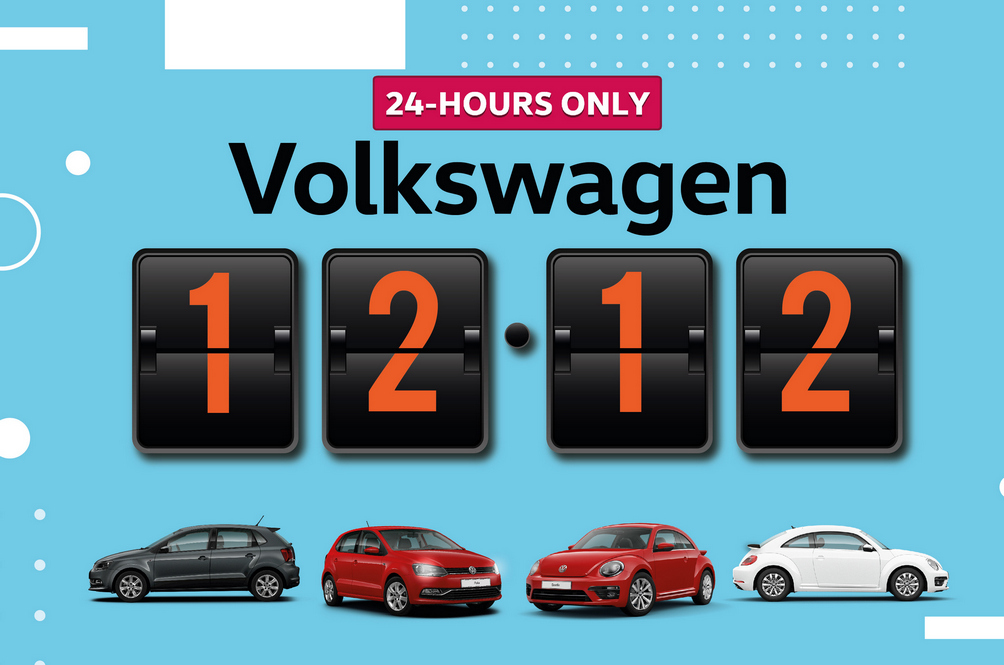 Double Tap And Buy A Volkswagen On Instagram This 12.12