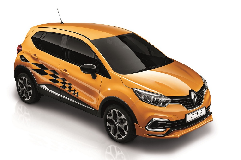 The Only Thing The Renault Captur Trophy Shares With The Megane RS Trophy Is Its Last Name