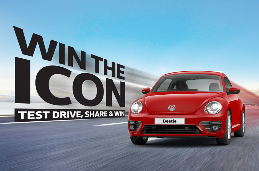 This might be your last chance to win a Volkswagen Beetle