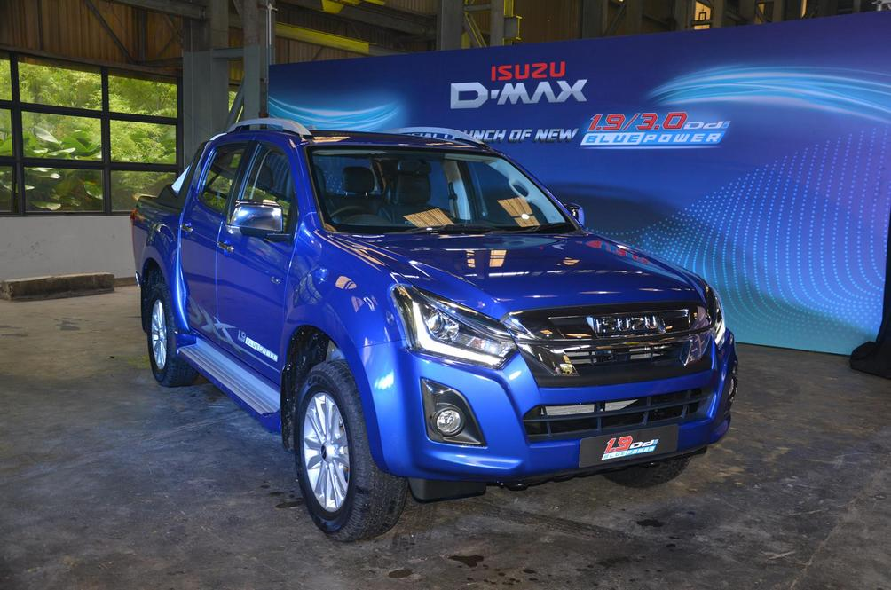 The New Isuzu D-Max Has A Variant For Everyone In Your Neighbourhood