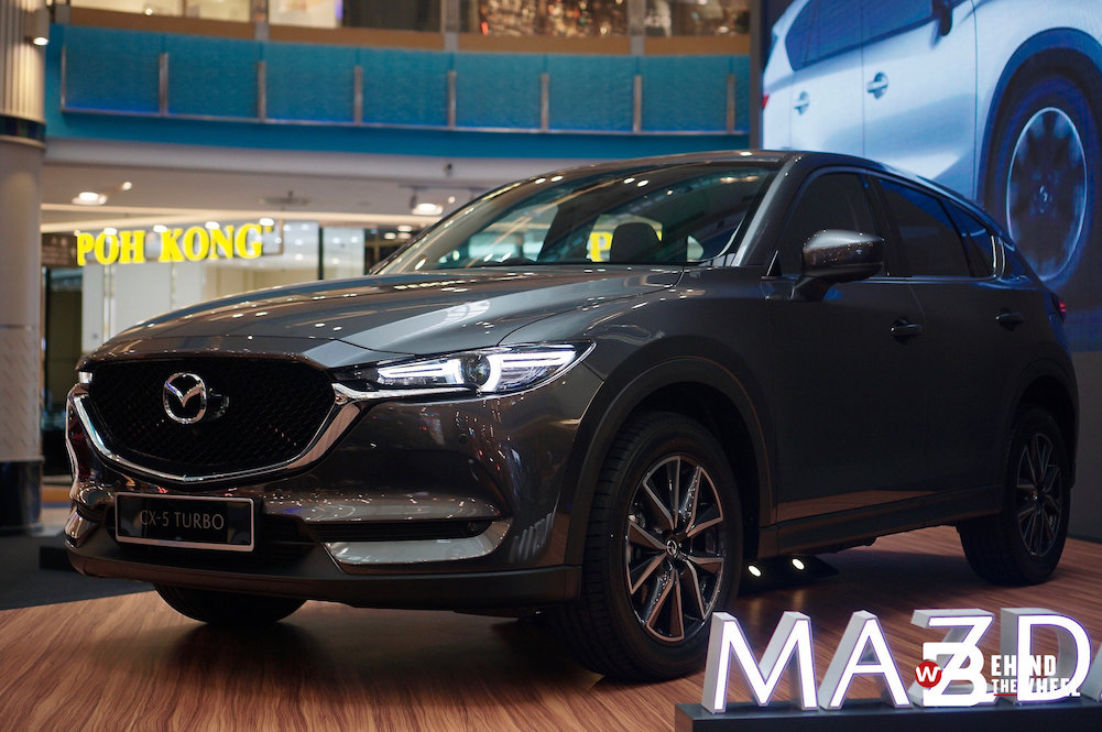 For The Power-Hungry Driver, The Mazda CX-5 Turbo Is Now Open For Booking