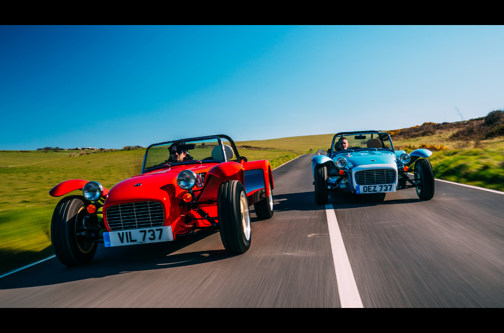 The Caterham Super Seven 1600 Is The Retro Sports Car We All Need