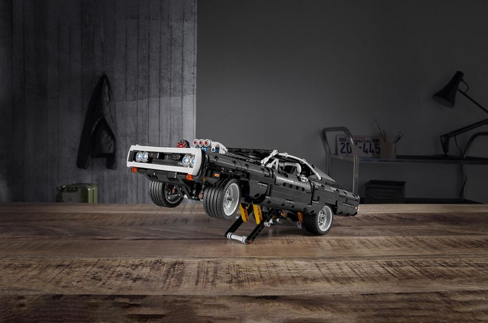Building Dom's Lego Charger From 'Fast & Furious' Will Take More Than 10 Seconds