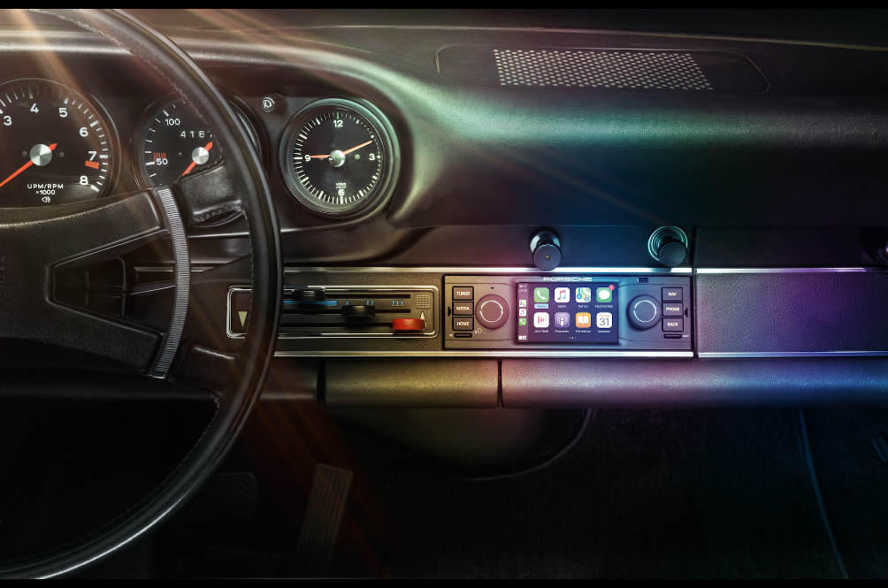 The Porsche Classic Communication Management Will Send Your 60s Porsche Into The 21st Century