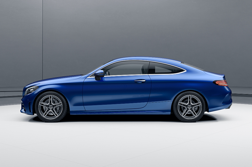 The Mercedes-Benz C 200 Coupe Now Has The Power To Match ...