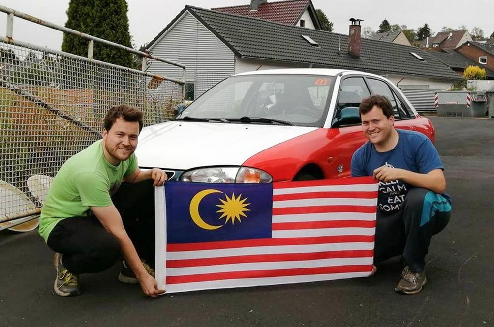 Going Dutch Now Means A Pair Of Twins Prepping A Proton Wira In Taxi Livery For Nurburgring Duty