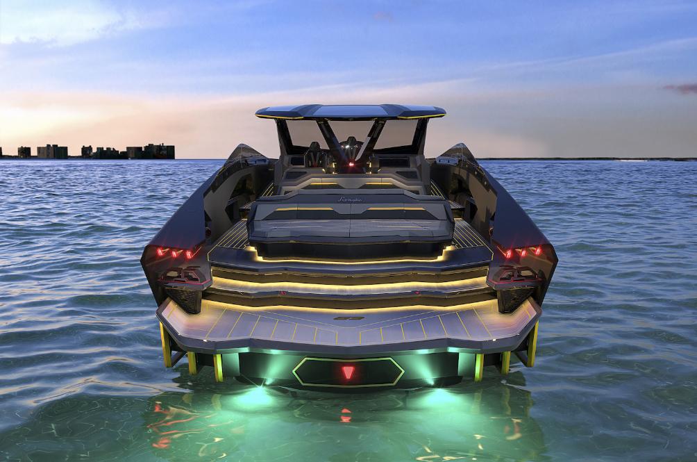 Lamborghini Got Tired Of Designing Cars, Designs Tecnomar for Lamborghini 63 Boat