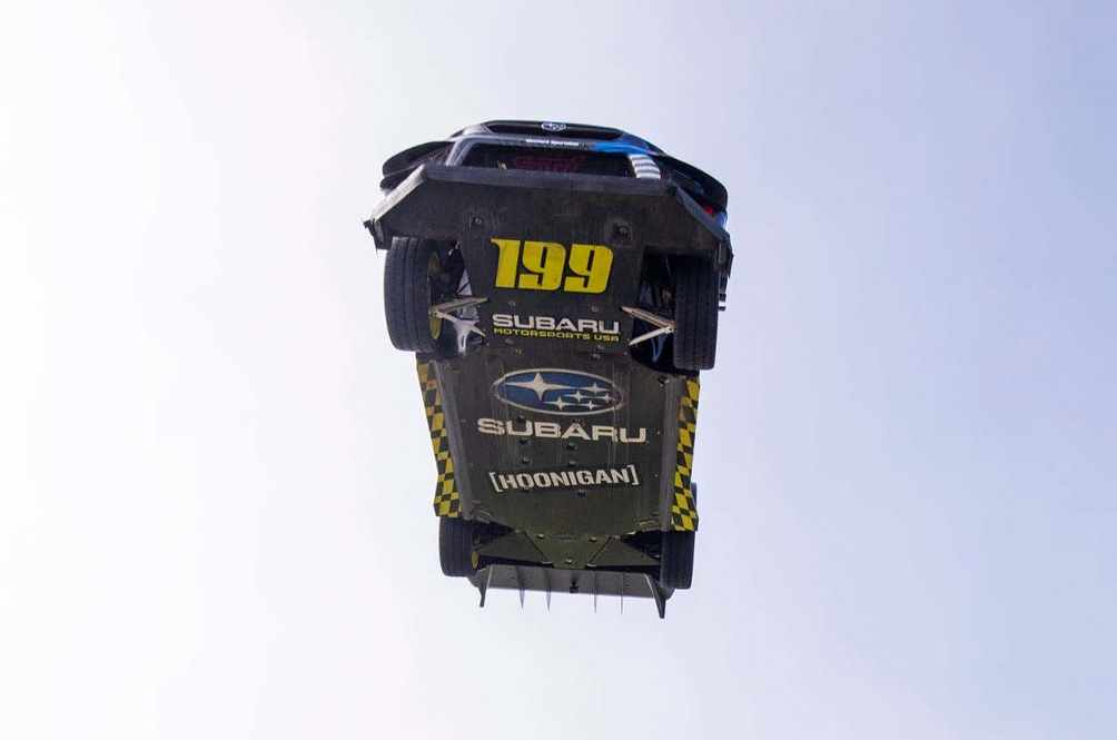 Travis Pastrana's Gymkhana 11 Has So Much Airtime They Put Sponsor Stickers On The Underbody