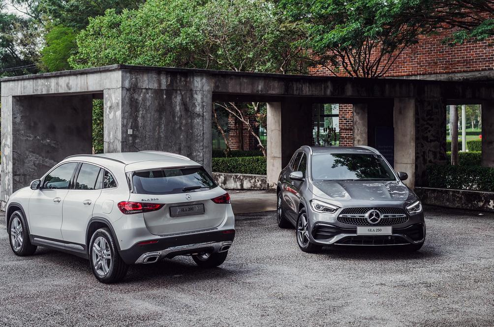 The Mercedes-Benz GLA Squeezes In At The Last Minute To Capitalise On The SST Exemptions