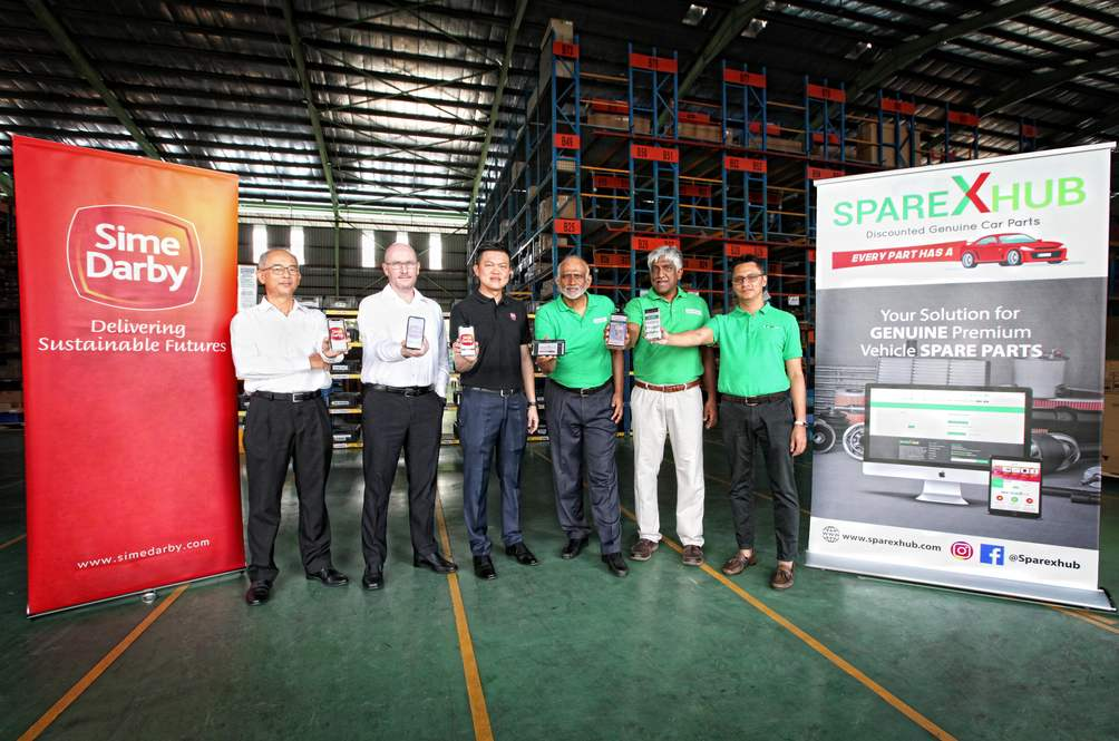 Sparexhub And Sime Darby Motors Malaysia Take Spares Part Sales Online