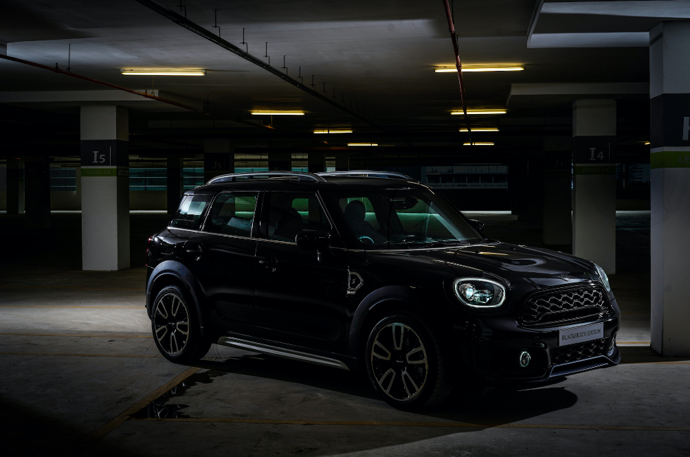 The MINI Countryman Blackheath Edition Is Available Only In One Colour