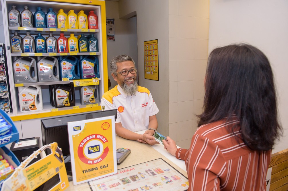 Shell Waives RM0.50 Touch 'N Go Reload Fees At All PLUS And East-Coast Expressway Stations