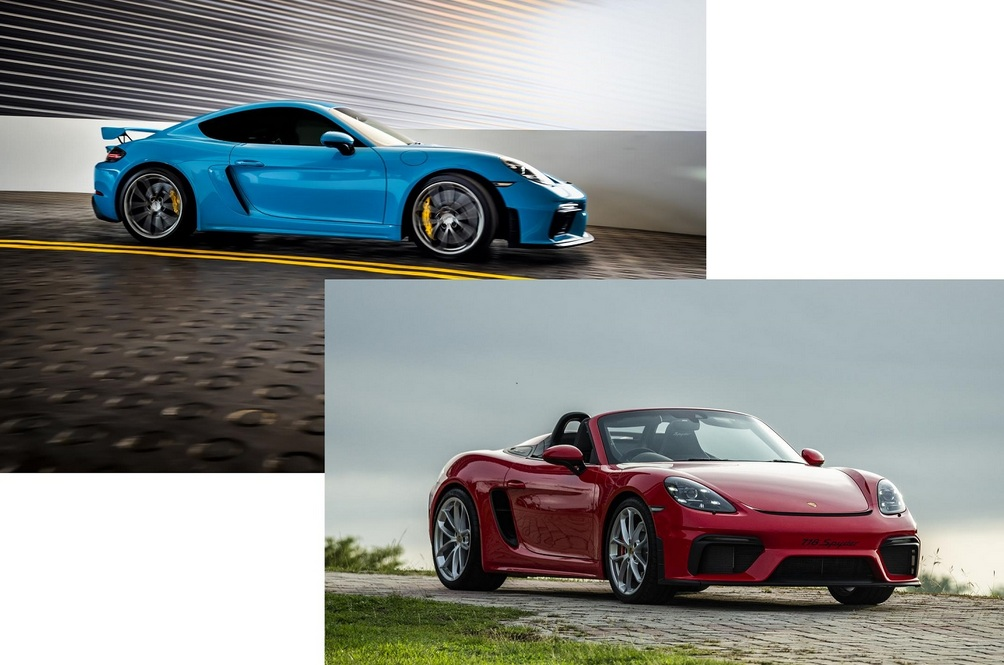 The Porsche 718 Cayman GT4 And 718 Spyder Make 2020 A Little More Bearable