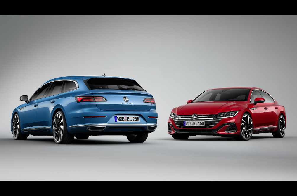 Volkswagen Updates Arteon Fastback And Introduces Shooting Brake Flavour