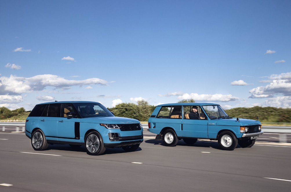 Range Rover Rolls Back The Years To Celebrate The Original's Golden Jubilee