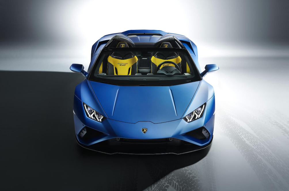 Lamborghini Huracán EVO RWD Spyder Promises Power, Noise, Smoke And More Wind In Your Hair
