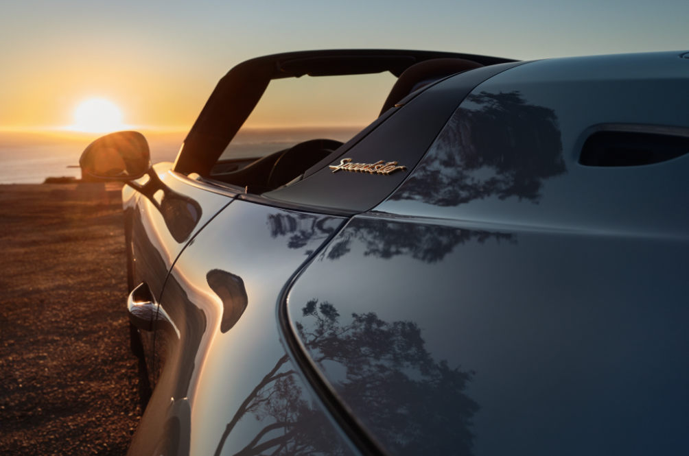 The New Porsche 911 Speedster Will Be Unveiled Exactly On June 2nd At 8pm Sharp