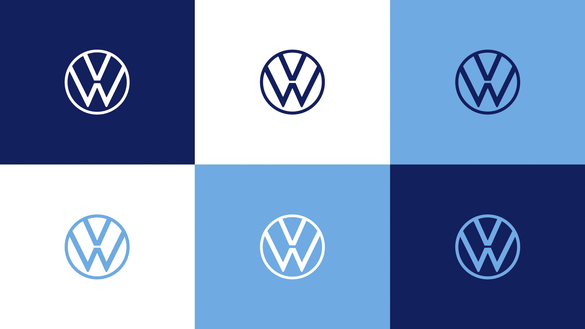 Volkswagen Will Use Its New Logo On Its Cars Unlike Bmw Btw Rojak Daily