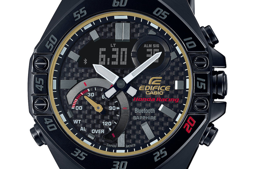 Casio Edifice Celebrates 20th Birthday With A Limited Edition Honda Racing Watch