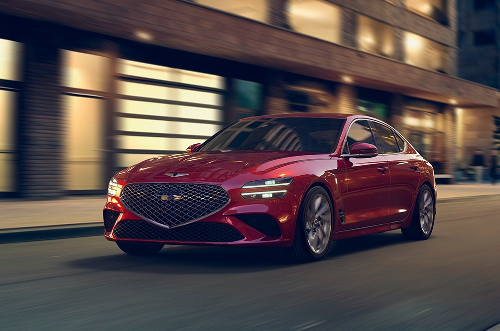 The Refreshed Genesis G70 Looks Like A Whole New Car