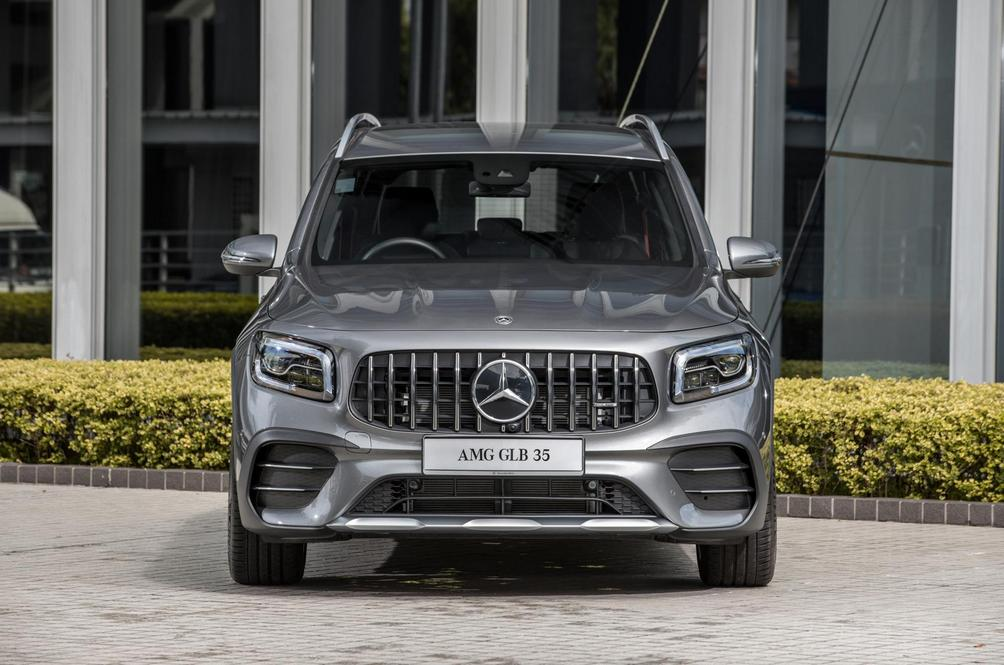 The Mercedes-AMG GLB35 4Matic Doesn't Make Sense On Paper But Doesn't Have To