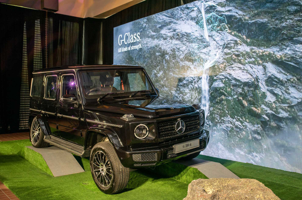 The Mercedes-Benz G 350 d Is The Cheaper Version Of The AMG G63