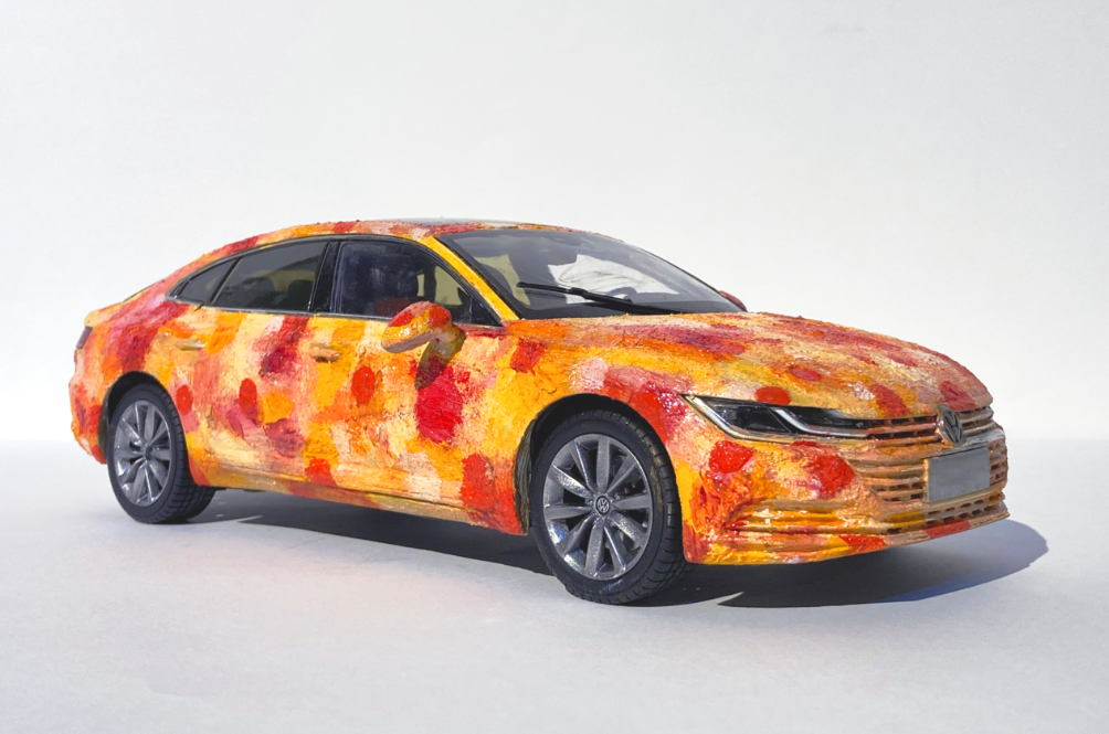 Volkswagen Arteon R-Line Becomes Art To Be Auctioned Off For Charity