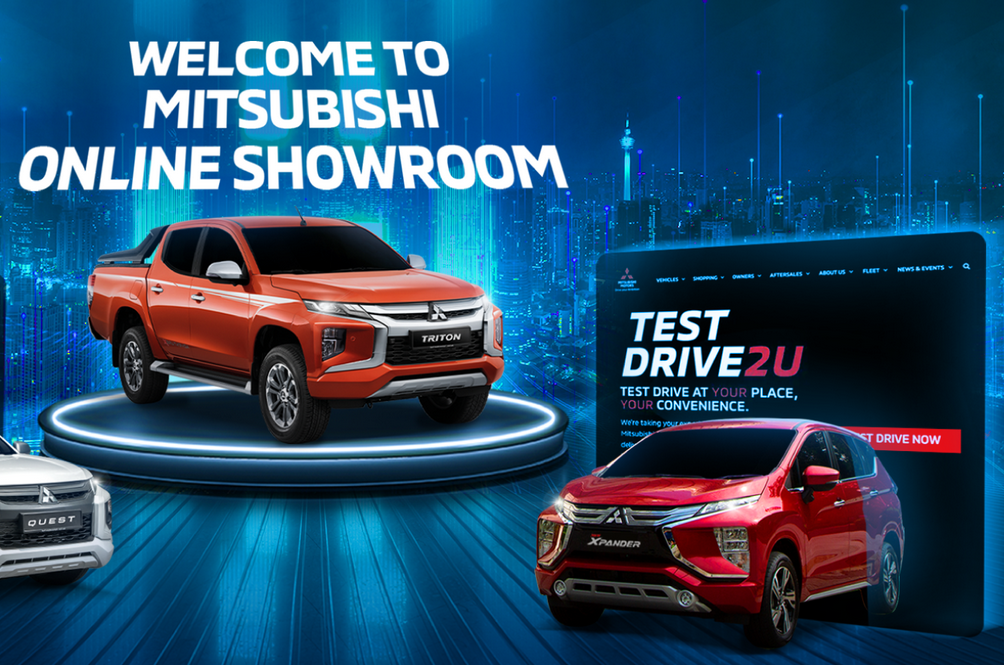Purchase Your New Mitsubishi Online Because That's Just How It'll Be