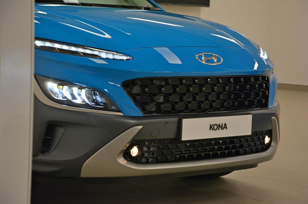 The Hyundai Kona Sweeps In The Last Corner For A Timely Segment Push