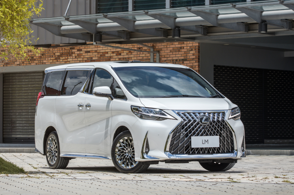 Nothing Else Says Extravagance Than Owning A Lexus LM 350 MPV