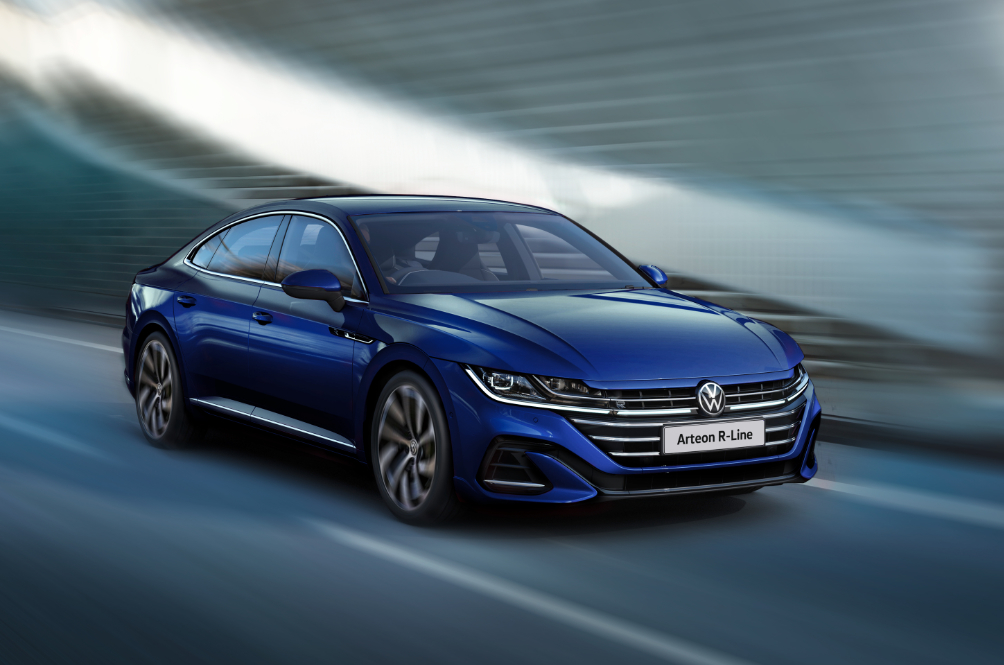 The New Volkswagen Arteon Has More Power And 4MOTION AWD