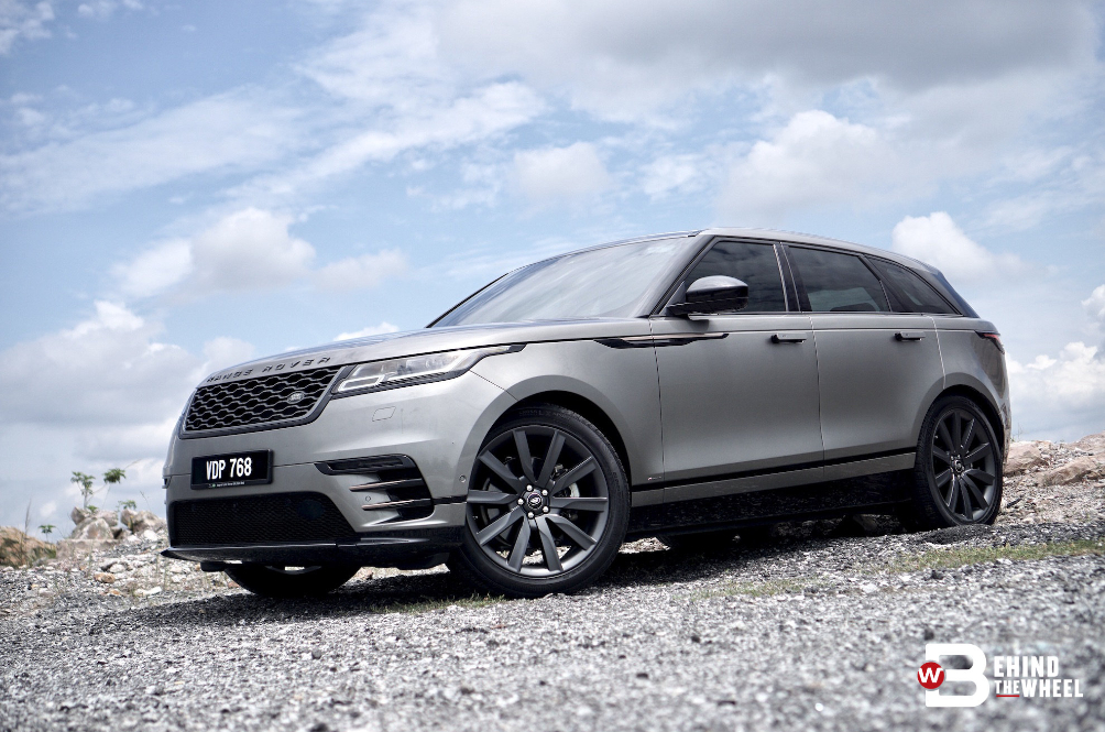 The Range Rover Velar Is Unnecessarily Over-The-Top, And It's Perfect