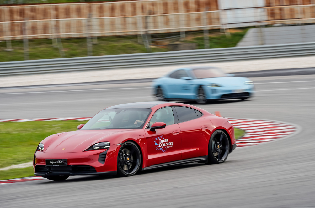 The Porsche Taycan Proves That It Is The Perfect EV For Track Days