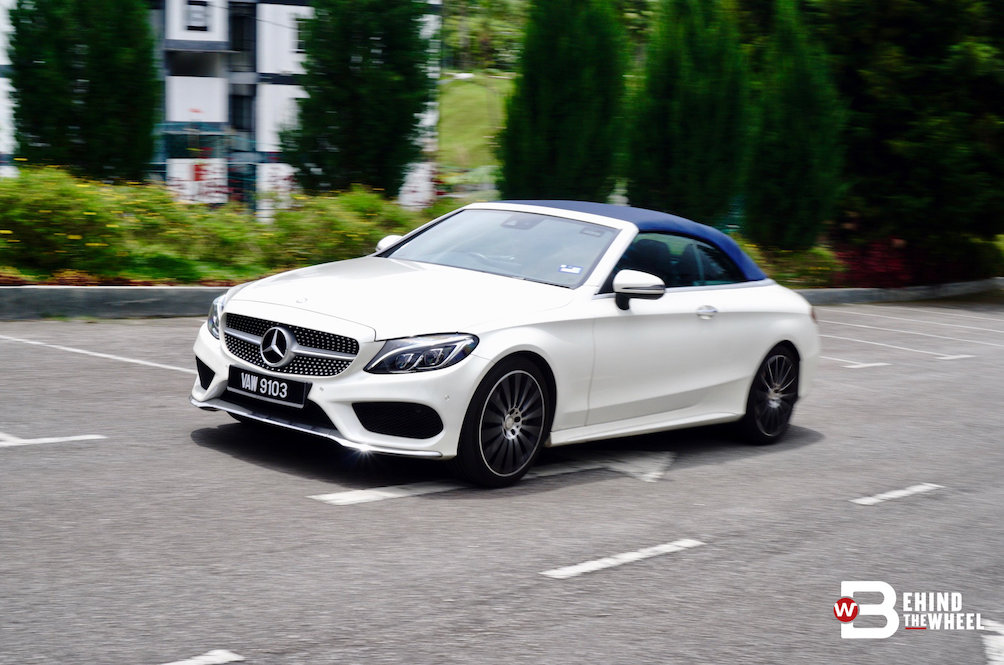 Mercedes-Benz C 300 Cabriolet Review: Open The Top, Expose Yourself To The World
