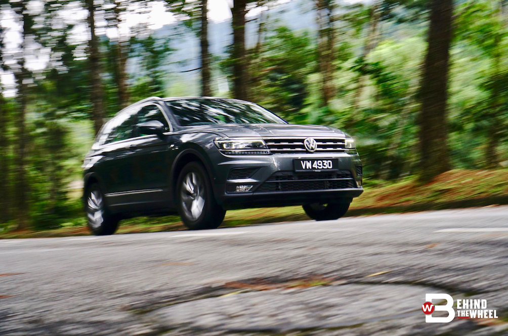 The Volkswagen Tiguan Did What the Golf Usually Does