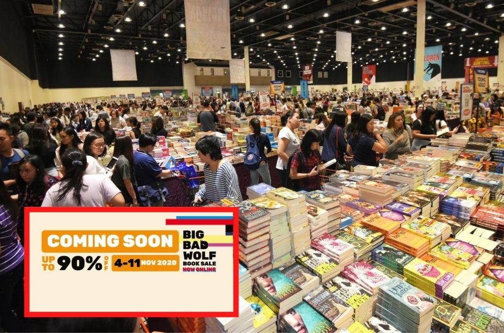 The Big Bad Wolf Book Sale Is Back And They're Going Virtual This Year
