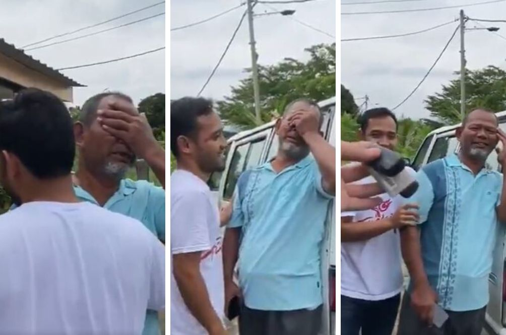 [VIDEO] Father's Breaks Down In Tears After Children Surprise Him With New Car